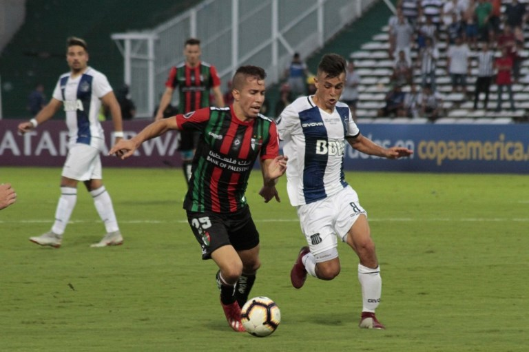 Futbol, Talleres de Cordoba vs Palestino