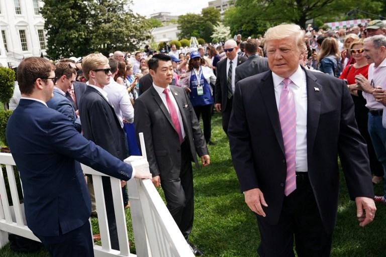 US - POLITICS - TRUMP - EASTER - EGG ROLL